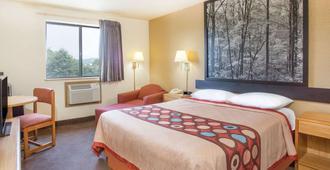 Super 8 by Wyndham Lexington VA - Lexington - Bedroom