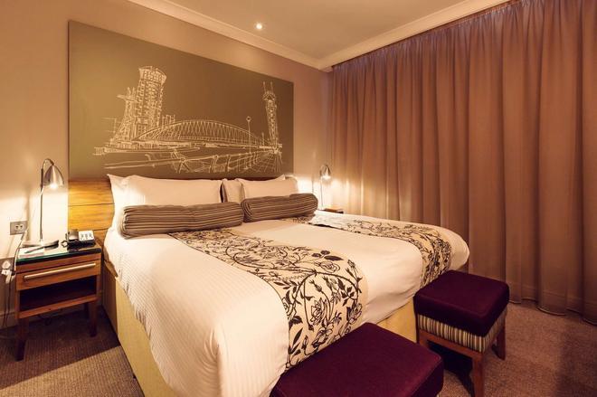 曼徹斯特聯排別墅酒店 - 曼徹斯特 - 曼徹斯特 - 臥室