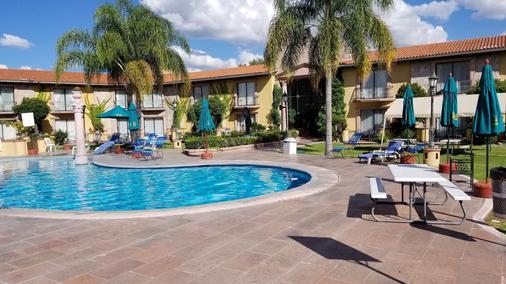 Gran Hotel Hacienda De La Noria - Aguascalientes - Bể bơi