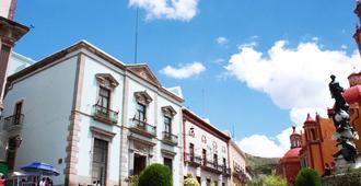 Hotel de la Paz - Guanajuato - Außenansicht