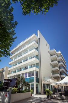 Hotel Cristallo - Ρίμινι - Κτίριο