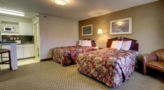 Intown Suites Extended Stay Greenboro Nc- Lanada - Greensboro - Schlafzimmer
