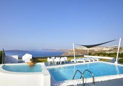 聖托里尼公主總統套房酒店 - 聖托里尼 - 阿克羅堤里(聖托里尼) - 游泳池