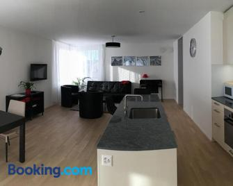 Close to Zürich centre and Airport - Kloten - Living room