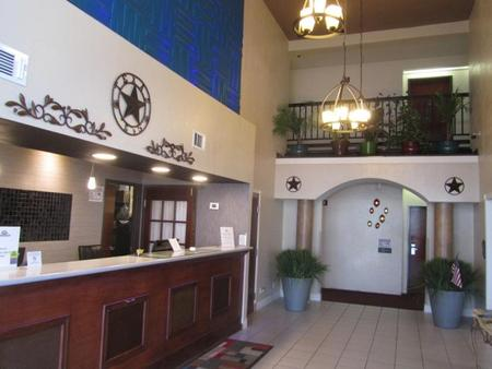 Executive Inn And Suites Wichita Falls - Wichita Falls - Front desk