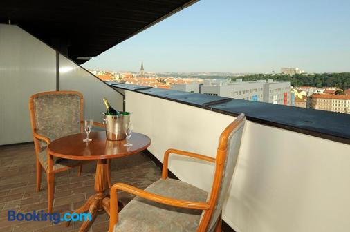 Congress & Wellness Hotel Olsanka - Prague - Balcony