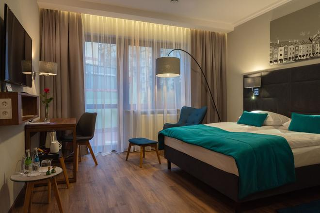Hotel Topaz Poznan Centrum - Poznan - Bedroom