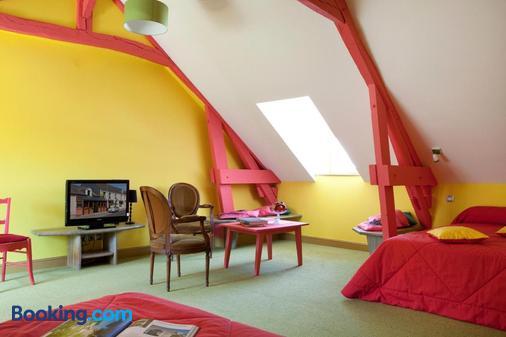 Ô en Couleur - Viévy-le-Rayé - Bedroom