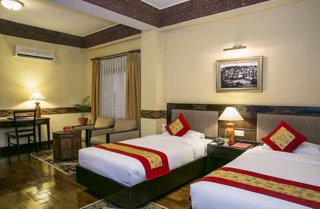 Hotel Tibet International - Kathmandu - Makuuhuone