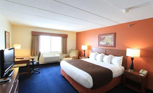 Americinn By Wyndham Cedar Rapids/Cid Airport - Cedar Rapids - Bedroom