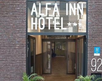 Alfa Inn - Бланкенберге - Building
