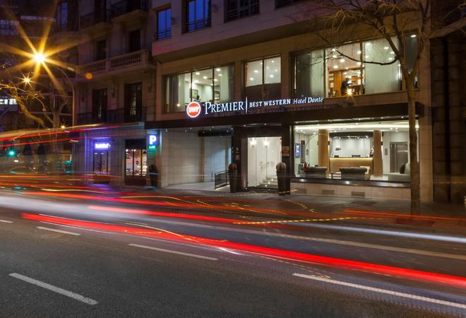 Best Western Premier Hotel Dante - Barcelona - Rakennus