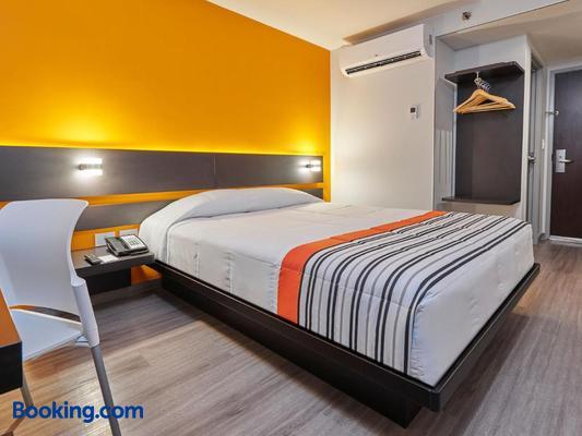 City Express Junior San Luis Potosi Carranza - San Luis Potosí - Bedroom