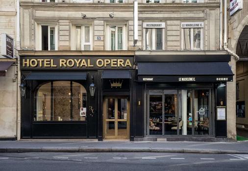 Hotel Royal Opera - Pariisi - Rakennus