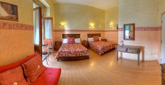 Hotel La Alhondiga - Puebla City - Bedroom