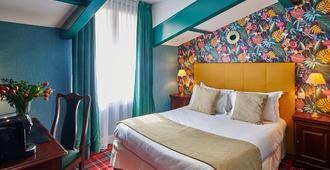 Hôtel Georges VI - ביאריץ - חדר שינה