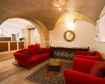 Hotel Palazzo Brunamonti - Bevagna - Wohnzimmer