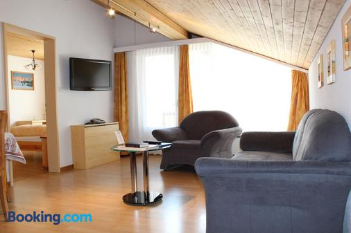 Hotel Conrad - Scuol - Living room