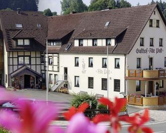 Gasthof-Pension Alte Post - Obertrubach - Edificio