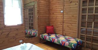 Montain Chalet - קמפוס דו ג'ורדאו - חדר שינה