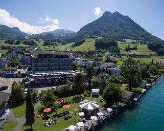 Seerausch Swiss Quality Hotel - Beckenried - Venkovní prostory