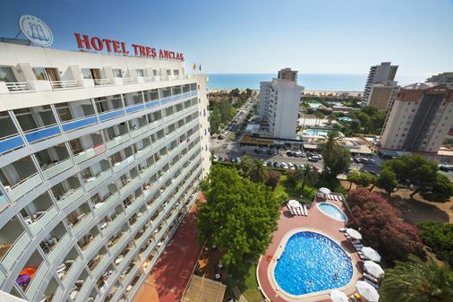 三錨酒店 - 干迪亞 - 甘迪亞 - 建築
