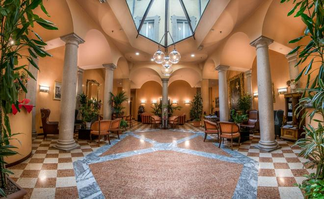 Hotel Regina - Μιλάνο - Σαλόνι ξενοδοχείου