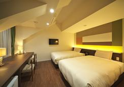 卡瓦吉池克公園酒店 - 富士河口湖町 - 臥室