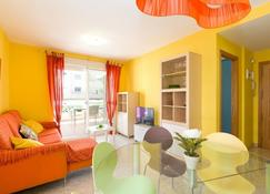 Apartamento Palmeras - Gandia - Wohnzimmer