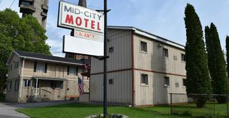 Mid-City Motel - Sault Sainte Marie (Míchigan) - Edificio