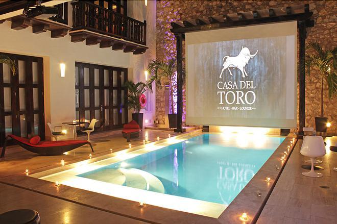 Hotel Casa Del Toro - Cartagena - Pool