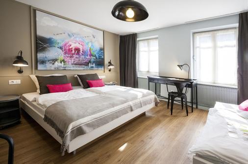 玫瑰酒店 (原三玫瑰酒店) - 史特拉斯堡 - 史特拉斯堡 - 臥室