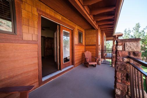 Cable Mountain Lodge - Springdale - Balcony