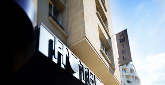 أوتل لو تشات نوار - باريس - مبنى