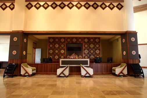 Nega Bonger Hotel - Addis Abeba - Rezeption