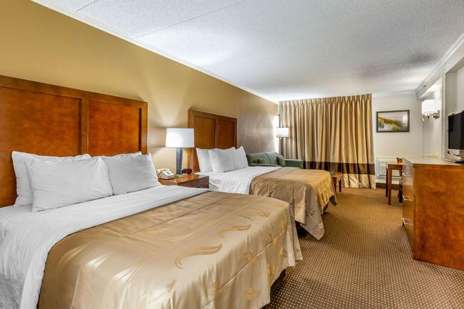 Quality Inn and Suites Oceanblock - Ocean City - Schlafzimmer