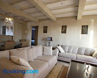 Les Restanques De Beaudine - Forcalquier - Living room
