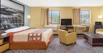 Super 8 by Wyndham Cedar City - Cedar City - Bedroom