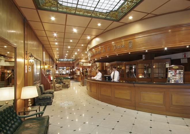 Gran Hotel de la Paix - Buenos Aires - Recepción