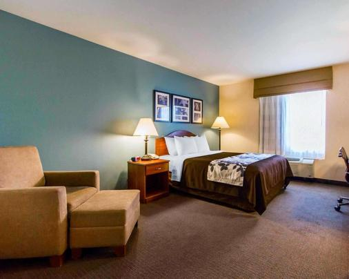Sleep Inn & Suites - Evansville - Bedroom