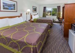 梅德福市中心速 8 酒店 - 中央點 - 梅德福 - 臥室