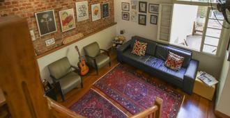 Brick Hostel - Porto Alegre - Living room