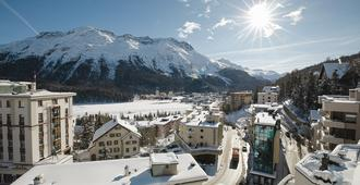 Hotel Steffani - Sankt Moritz - Näkymät ulkona