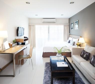 Viva Garden Serviced Residence - Bangkok - Bedroom
