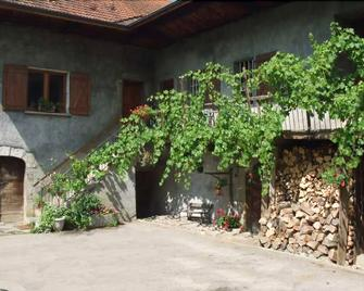 Domaine du Grand Cellier - Insolite en Savoie - Tournon - Außenansicht