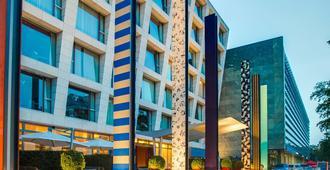 ラディソン ブル メディア ハーバー ホテル、デュッセルドルフ - デュッセルドルフ - 建物
