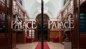 Art Nouveau Palace Hotel - Prag - Hoteleingang