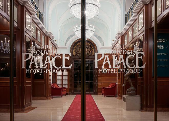 Art Nouveau Palace Hotel - Πράγα - Σαλόνι ξενοδοχείου