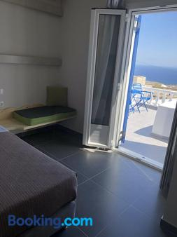 Afrodete Hotel - Firostefani - Balcony
