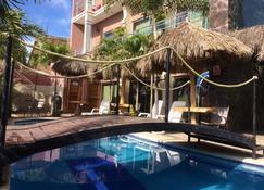 Hotel Simon Beach - Chacala - Pool